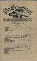 Der Scharfschütz Stadt Bern 1910-1912