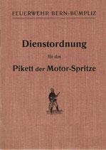 Feuerwehr Bern-Bümpliz 1928