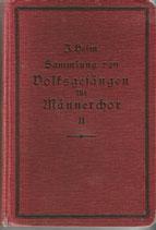 Sammlung von Volksgesängen 1925