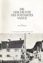 Die Geschichte des Postamtes Vaduz