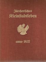 Zürcherisches Kleinstadtleben anno 1837