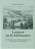 Langnau im 18.Jahrhundert