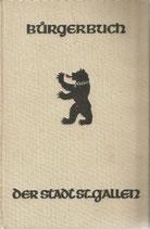 Bürgerbuch der Stadt St.Gallen 1940