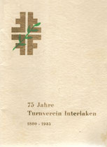 75 Jahre Turnverein Interlaken 1935