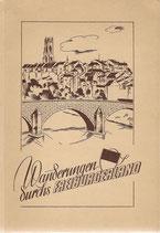 Wanderungen durchs Freiburgerland 1934