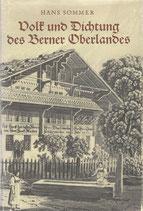 Volk und Dichtung des Berner Oberlandes