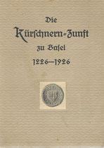 Die Kürschnern-Zunft zu Basel 1226-1926