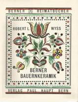 Berner Bauernkeramik 1966