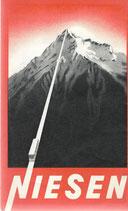 Niesen Panorama Karte 1946