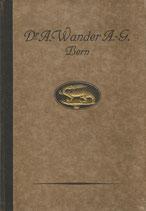 Dr. A. Wander AG Bern Produkte Katalog Nr.4 ca. 1930