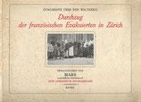 Durchzug der französischen Evakuierten in Zürich