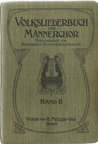 Volksliederbuch für Männerchor 1914