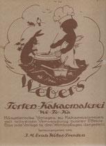 Webers Torten-Kakaomalerei 1922