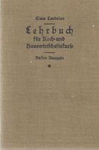 Lehrbuch für Koch- und Hauswirtschaftskurse 1925
