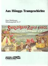 Aus Hönggs Tramgeschichte