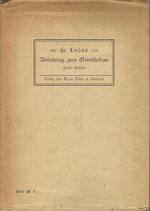 Anleitung zum Gemüsebau 1913
