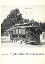 75 Jahre Basler Verkehrs-Betriebe