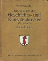 Kunstdenkmäler (Cicerone) von Baselland 1923