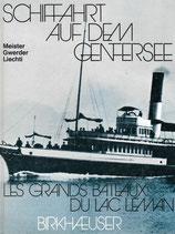 Schifffahrt auf dem Genfersee