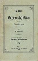 Sagen und Sagengeschichten aus dem Simmenthal 1893