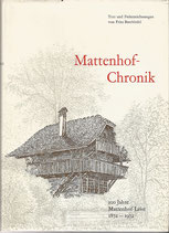 Mattenhof Chronik 1872-1972