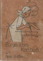 Bürgerliches Kochbuch 1929