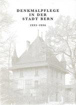 Denkmalpflege in der Stadt Bern 1993-1996