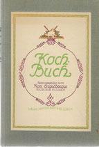 Koch-Buch Kochschule Zürich 1921