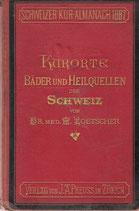 Die Kurorte, Bäder & Heilquellen der Schweiz 1887