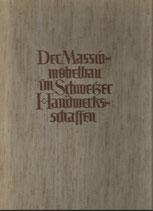 Der Massivmöbelbau im Schweizer Handwerk 1946