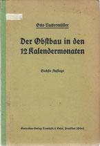 Der Obstbau in den zwölf Kalendermonaten 1919