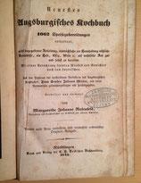 Neues Augsburgisches Kochbuch 1849