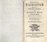 Erneuertes Regimentbuch Rep. Bern 1821