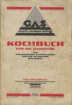 Kochbuch für die Gasküche ca.1935