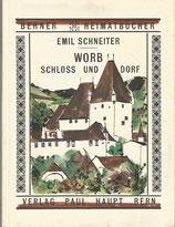 Worb Schloss und Dorf 1961