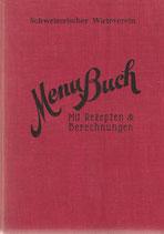 Menu-Buch 1937
