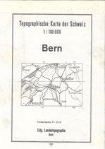 Topographische Karte Bern 1949