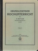 Grundlegender Kochunterricht 1933