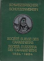 Schweizerischer Schützenverein 1824-1924