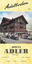 Hotel Adler Adelboden ca.1950