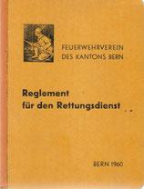 Reglement für den Rettungsdienst 1960