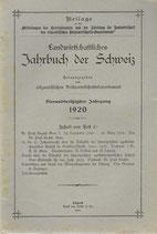 Landwirtschaftliches Jahrbuch der Schweiz 1920 (3)
