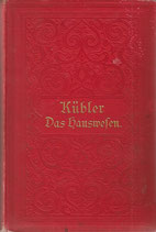 Das Hauswesen mit Kochbuch 1899