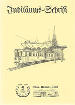 Jubiläums-Schrift Blau-Bähnli-Club 1988-1993