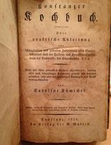 Constanzer Kochbuch 1825