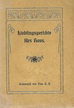 Lieblingsgerichte fürs Haus 1905