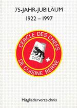 75-Jahr-Jubiläum 1922-1997 Berne