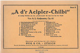 A d'r Aelpler-Chilbi, Bass B