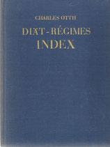 Diät - Régimes Index 1936