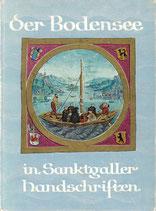 Der Bodensee in Sanktgaller Handschriften